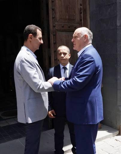 Аслан Бжания поздравил Башара Асада с вступлением в должность Президента САР