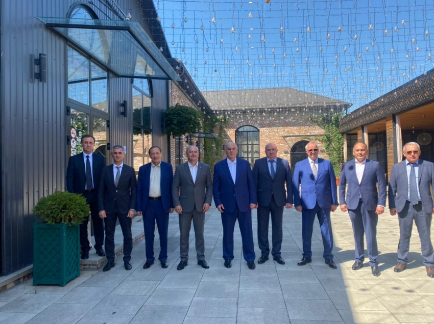 Аслан Бжания прибыл с официальным визитом в Республику Южная Осетия