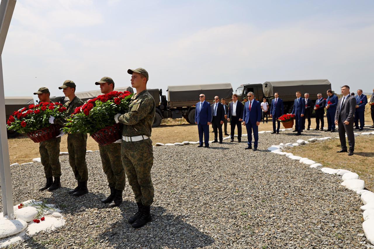 Президент Абхазии принял участие в памятных мероприятиях, посвященных событиям августа в Цхинвале
