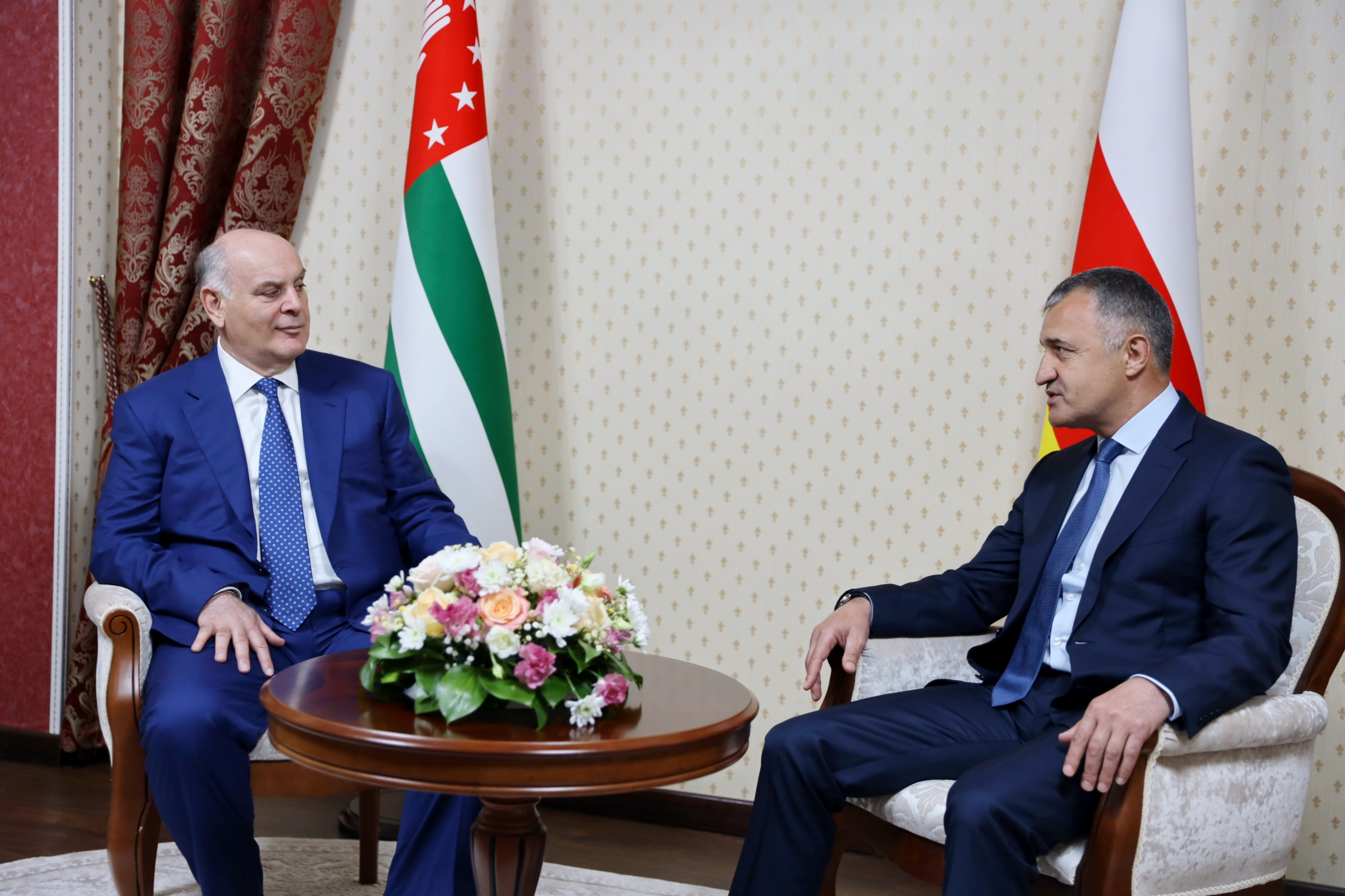 Состоялась встреча президентов Республики Абхазия и Республики Южная Осетия
