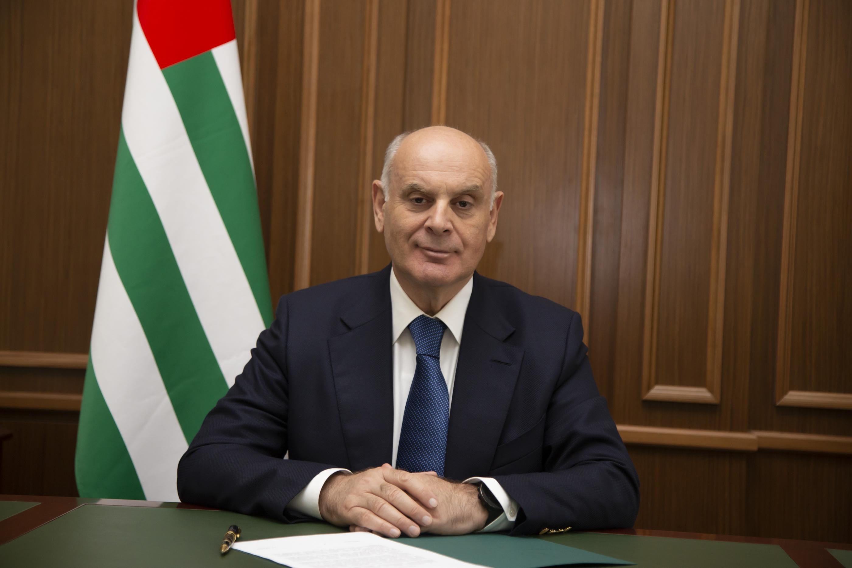 Поздравление Президента Республики Абхазия Аслана Бжания по случаю начала нового учебного года